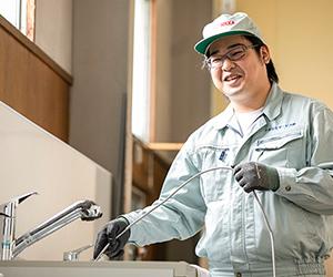 おうちのリフォーム、住宅設備機器に関する修理・メンテナンス・クリーニング・点検