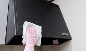 レンジフード清掃