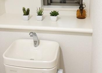 トイレ手洗い器清掃